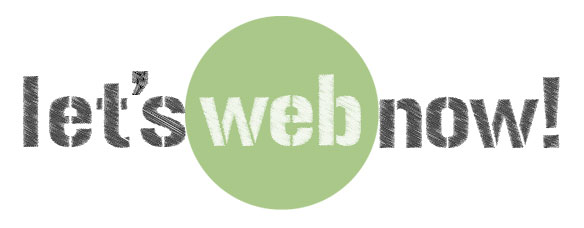 Let's Web Now! Mobile Retina Logo